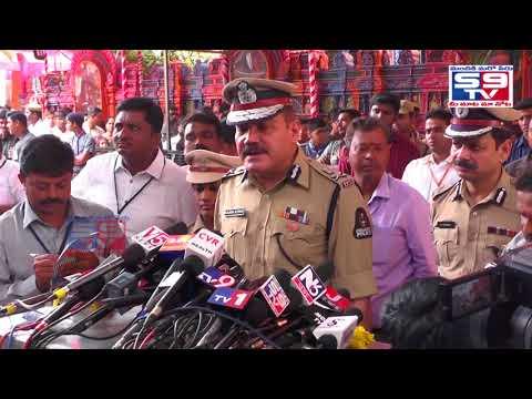 Secunderabad Ujjaini Mahankali Bonalu Press Meet Cp Anjani Kumar  S9tv News