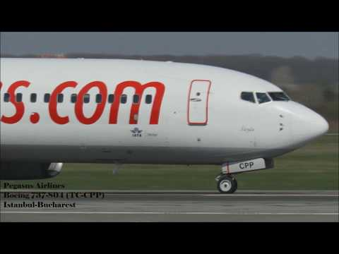 Spotting Romania / landings /takeoff/bucharest airports/Otopeni/
