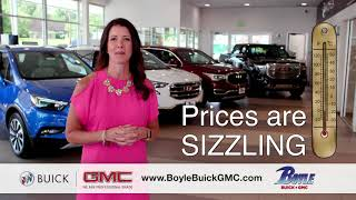 Boyle Buick GMC -  The Sizzling Summer Sales Event