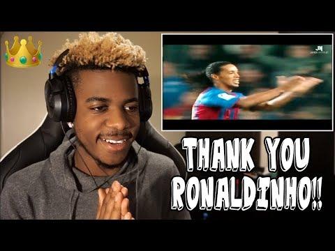 RONALDINHO - FOOTBALLS GREATEST ENTERTAINMENT 👑🤙🏾  Reaction Tribute