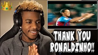 RONALDINHO - FOOTBALL'S GREATEST ENTERTAINMENT 👑🤙🏾 | Reaction (Tribute)