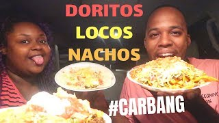 DORITOS LOCOS NACHOS MUKBANG | TACO TUESDAY #CARBANG | FRITZ FAMILY ENTERTAINMENT