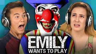EMILY WANTS TO PLAY (Teens React: Gaming) | REACT