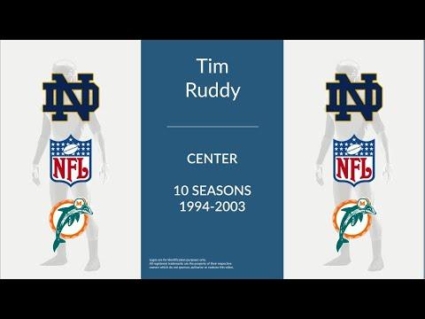 Tim Ruddy: Football Center