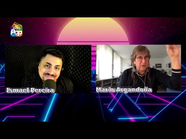 Entrevistas Pop: Mario Argandoña