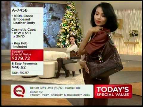 QVC Show Host Wearing Tights