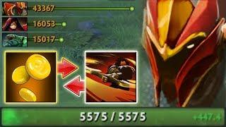 1283 GPM Unfair Farm DK [Greevil's Greed + Counter Helix] Dota 2 Ability Draft
