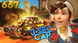 Quickest Cap In Ow History..?! | Overwatch Daily Moments Ep.667 (Funny and Random Moments)
