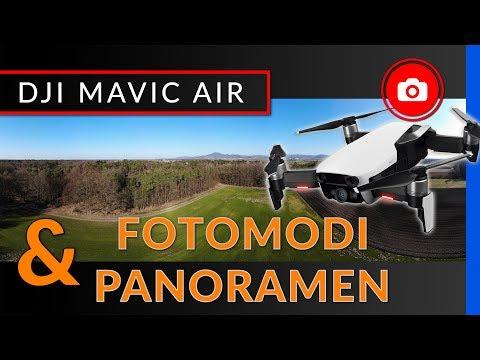 DJI Mavic Air: Panorama-Aufnahmen und Fotomodi - [ deutsche Anleitung ]