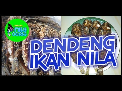 Dendeng Ikan Nila Youtube