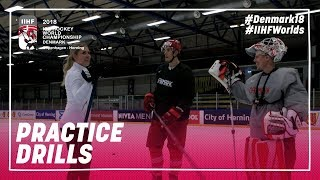 Denmark's Lauridsen & Dahm Perfect Olga's Skills on the Ice | #IIHFWorlds 2018