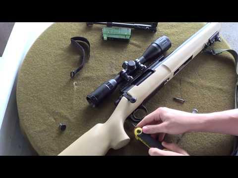 Modify MOD24 Airsoft Sniper Rifle (Update 10-22-13)