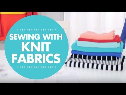 How To Sew Knit Fabrics