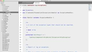 Laravel 5: What's new?: Directory Structure & Namespaces (1/5)