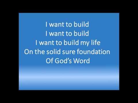 """AWANA Song """"I Want to Build My Life"""""""