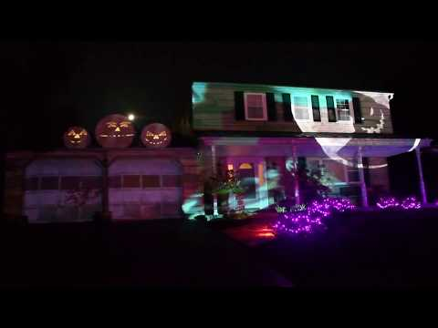 Randy McCarten - Lots of Bugs Crawling On This Projection Halloween Display