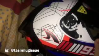 Cara Membuka Sidepot Helm INK CL-MAX || Custom Visor Terminator Untuk CL-MAX