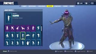 "FORTNITE ""RAVEN"" Skin Showcased with 40+ Dances/Emotes Fortnite Shop SEASON 4"