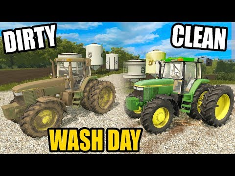 THE TRACTOR IS FINALLY SHINY CLEAN | FARMING SIMULATOR 2017 | EP#34