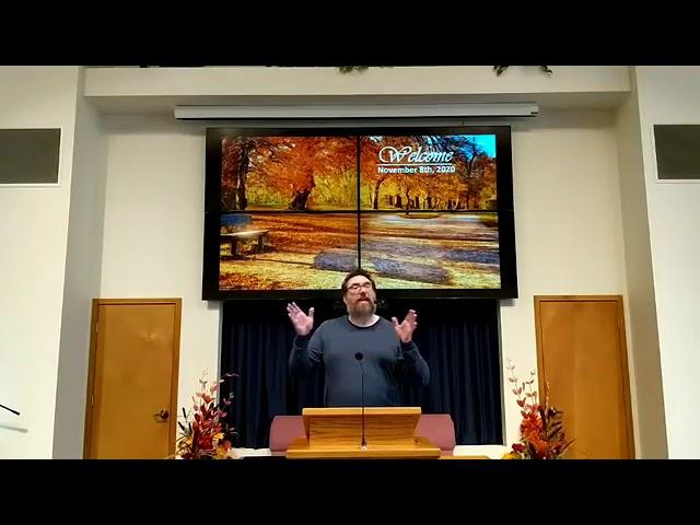 Worship service 11-8-2020