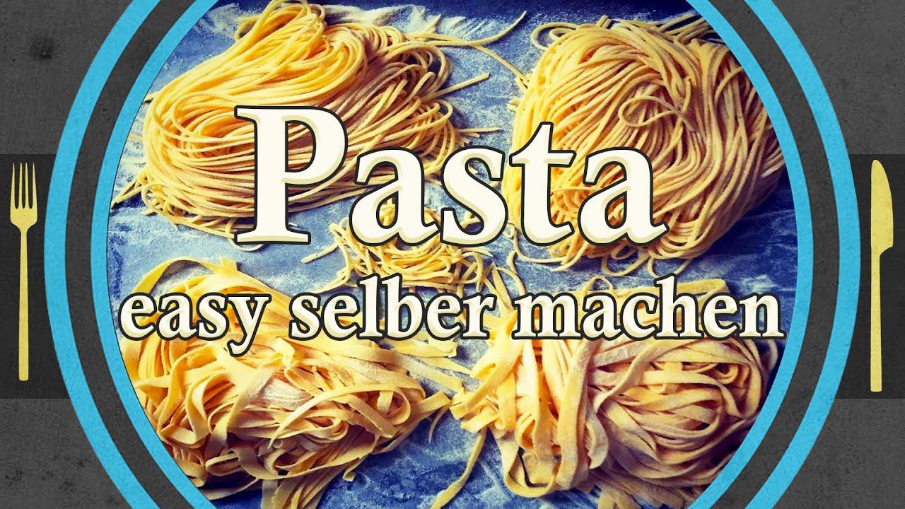 Nudeln, Pasta einfach selber machen (ohne Waage)