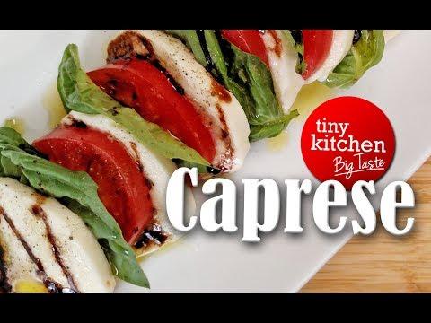 Caprese Salad with a Balsamic Glaze // Tiny Kitchen Big Taste
