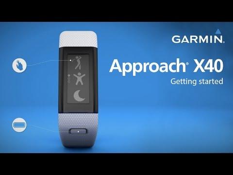 Garmin Approach X40: Getting Started Golfing