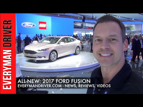 Here's the All-New 2017 Ford Fusion on Everyman Driver