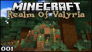 A NEW MINECRAFT BUILDING ERA BEGINS! | The Realm of Valyria (Minecraft Survival Building) Episode 1