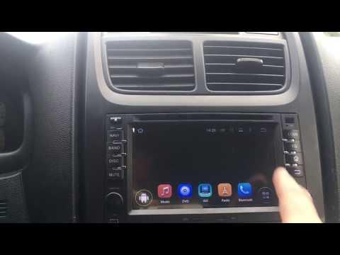 Removal multimedia radio Kia Sportage 2009  OCTO Core Android 7.0 + parking camera