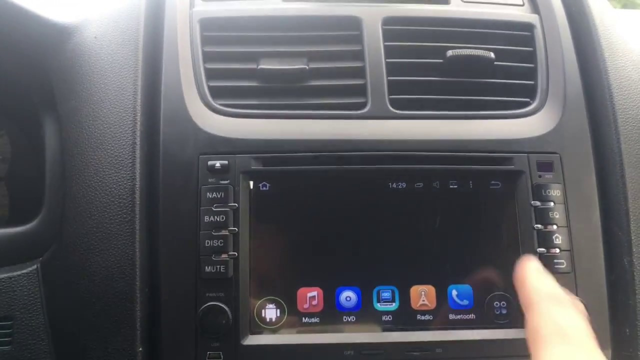 Removal Multimedia Radio Kia Sportage 2009 Octo Core Android 7 0