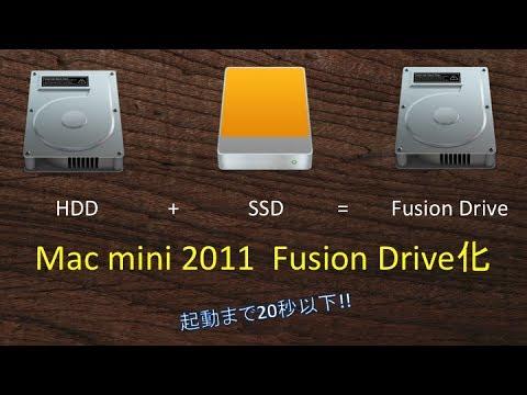mac mini mid2011 fusion drive 20 youtube. Black Bedroom Furniture Sets. Home Design Ideas