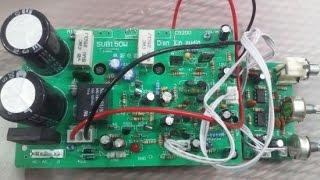 Hướng dẫn đấu lắp và test mạch siêu trầm liền công suất 250w