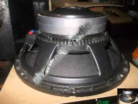 Crown jackhammer subwoofer