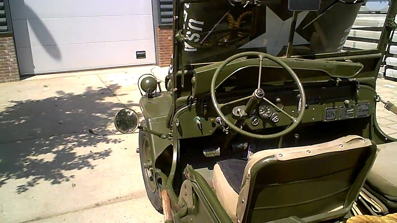 willy army jeep [ 1280 x 720 Pixel ]