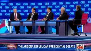 Ron Paul on preemptive war CNN Republican Debate 2/22/12