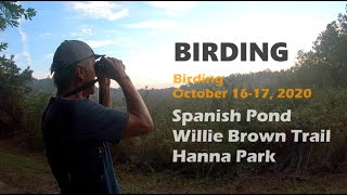 Birding in Spanish Pond, Theodore Roosevelt Area, Hanna Park.
