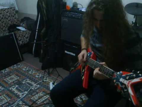 Cemetery Gates guitar solo