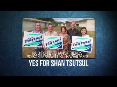 Yes for Shan Tsutsui