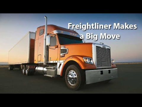 Freightliner Makes a Big Move - Autoline This Week 1938