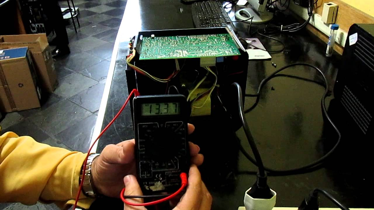 Circuito Ups 12v : Nbk apc back ups testes básicos youtube