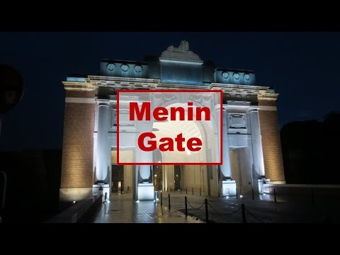 Belgium travel tip : Menin Gate with The Last Post  -  Ypres - Belgium Flanders trip  #Belgium