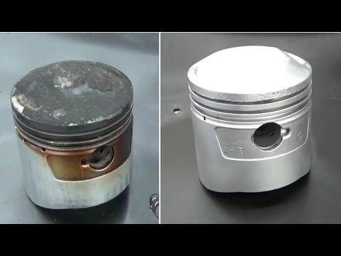 Cleaning Pistons Using Vapor Blasting- Vapor Honing Technologies