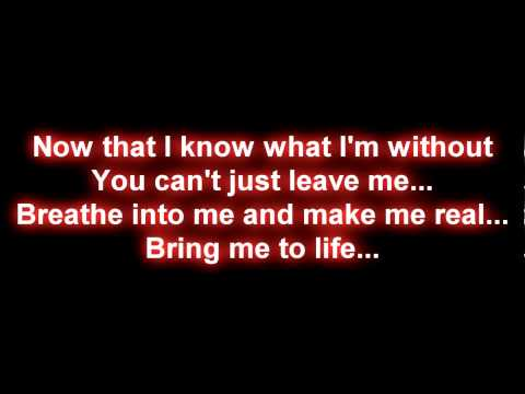 Katherine Jenkins - Bring Me To Life (lyrics)
