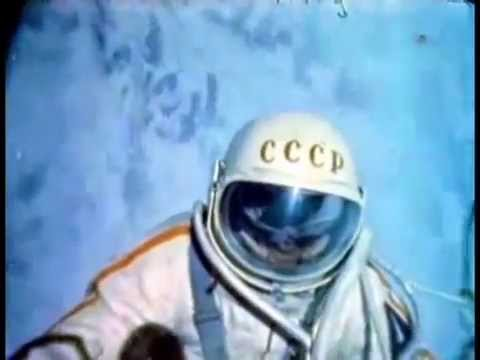Rare color footage of first spacewalk, Alexey Leonov ...