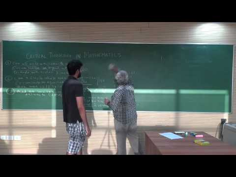 Critical Thinking In Action from YouTube · Duration:  51 seconds  · 421 views · uploaded on 09.08.2012 · uploaded by BarrackSpotlight