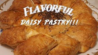 Cheese Pastry Recipe that is Flavorful and Tasty Погадаем на Ромашке Пирог с сыром из слоёного теста