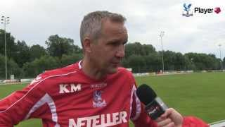 Keith Millen Chats About Crystal Palace's Austria Training Camp
