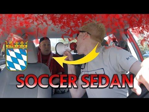 Soccer Sedan DRINKING AND DRIVING-  BAYERN MUNICH!!! ft Bayern Ryan