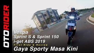 Vespa Sprint S dan Sprint i-get ABS 2019 First Ride Review | OtoRider